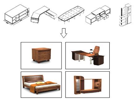 圆方订制家具拆单系统
