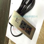 美式插座带双联USB